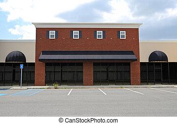 建物, 新しい, コマーシャル, 捨てられた