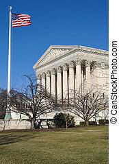 建物, 最高裁判所, 冬