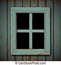 建物, 木製である, 窓, 古い, 捨てられた