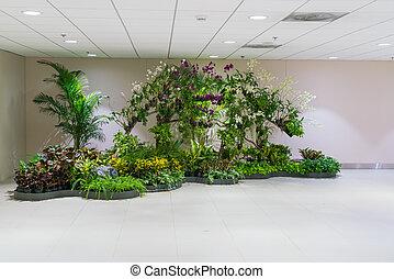 建物, 植物, オフィス