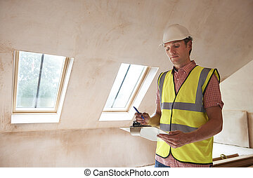 建物, 検査官, ∥見る∥, 新しい不動産