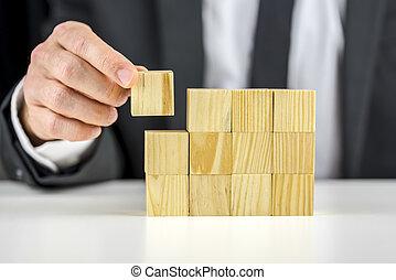 建物, 概念, ビジネス