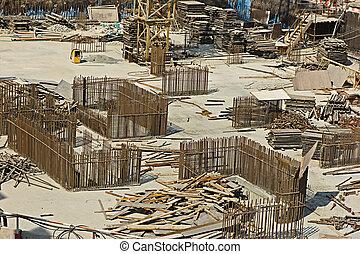 建物 構造, 現代, サイト