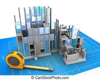 建物 構造, 3d