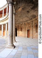 建物, 歴史的, グラナダ