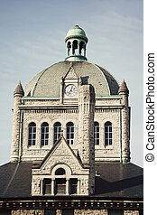 建物, 歴史的, レキシントン