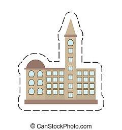 建物, 漫画, オフィス, 政府