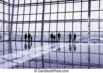 建物, 現代, 人々