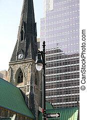 建物, 現代, 古い教会