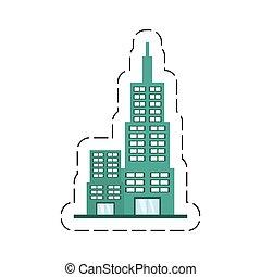 建物, 現代, 漫画, 構造