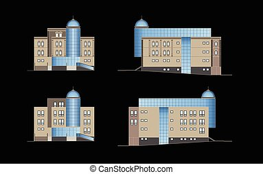 建物, 現代