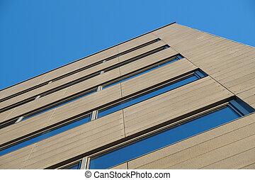 建物, 窓, ぼんやりさせられた, 捨てられた, 見通し