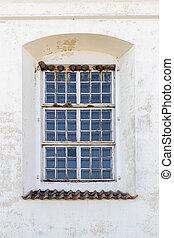 建物, 窓, 歴史的, 古い