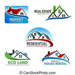建物, 窓, mansard, 屋根, 家, 家