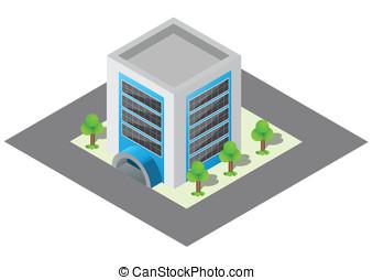 建物, 等大
