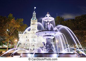 建物, 議会, ケベック