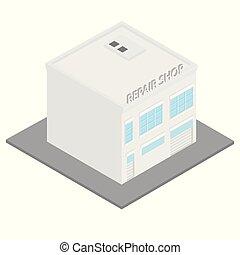 建物, 車サービス