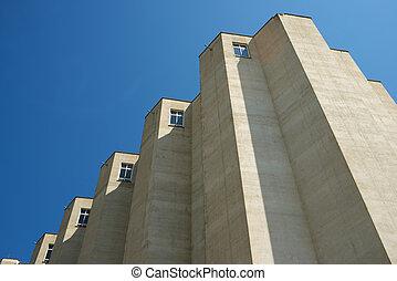 建物, 農業, 光景
