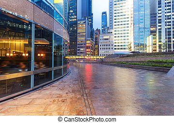 建物, 都市, オフィス, 都市, 現代, 外面