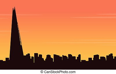 建物, 都市, コレクション, ロンドン, 風景, 株