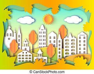 建物, 都市, 大きい