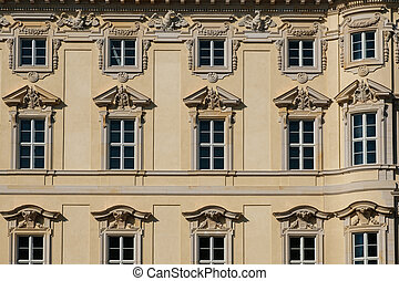 建物, 都市, humboldt, 宮殿, berliner, ), (, /, stadtschloss, 歴史的, ドイツ, 元通りにされる, ベルリン, ファサド, フォーラム