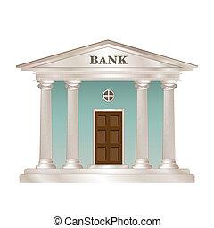 建物, 銀行