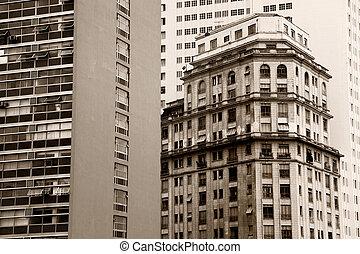 建物, 高い, 歴史的