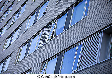 建物, 3, イメージ, オフィス