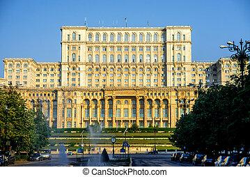 建物, bucharest, 議会