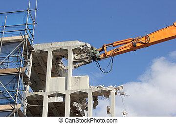 建物, demolishing