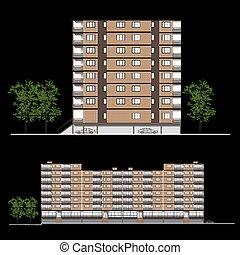 建物, facade-habitation