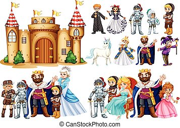建物, fairytale, 城, 特徴