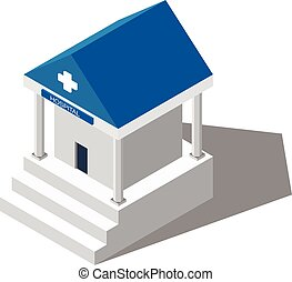 建物, medical., 病院