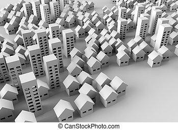 建物, papercraft