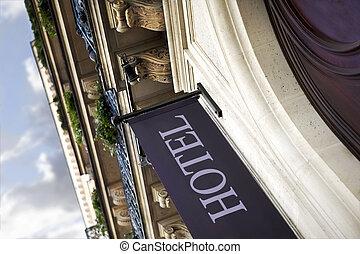 建物, paris ホテル