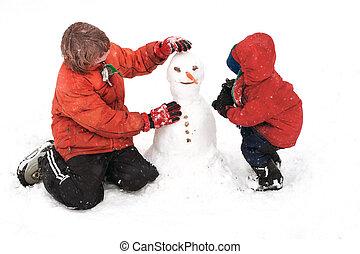 建物 snowman
