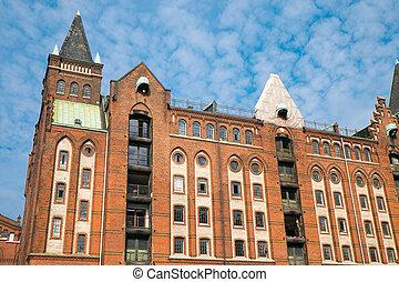 建物, speicherstadt