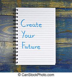 建立, 你, 未來, 正文