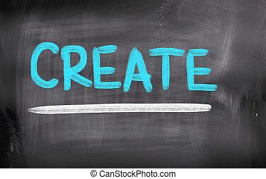 建立, 概念