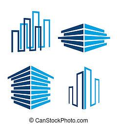 建筑物, 图标