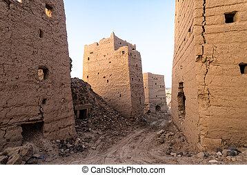 建筑物, 在中, yemen
