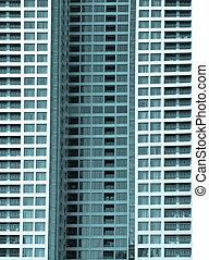 建筑物, 旅馆, 摩天楼
