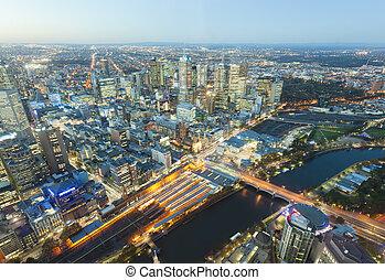 建筑物, 澳大利亞, 現代, 墨爾本, 看法