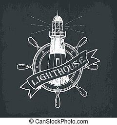 建筑物, 轮子, 灯塔, 船, 船, 或者
