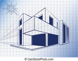 建筑, 背景