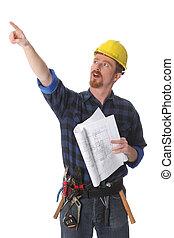 建築である, 建築作業員, 計画, 指すこと