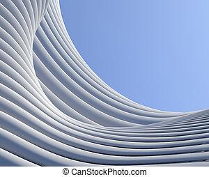 建築である, 背景, 抽象的