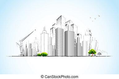 建築である, 計画