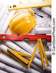 建築の計画, &, 道具